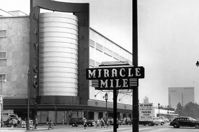 Miracle Mile in the past